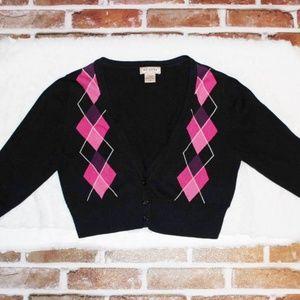 Arizona Jean Co Cropped 3 Button Sweater Juniors L